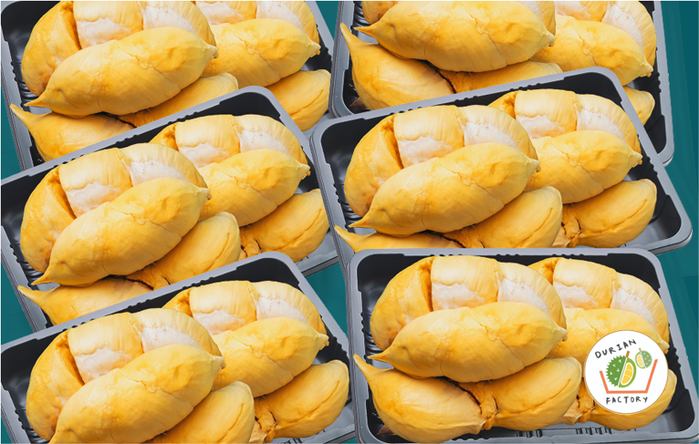 durian wrapping