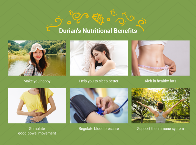 Durian support immune system