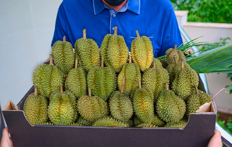 Enjoy Durian Delivery in Singapore