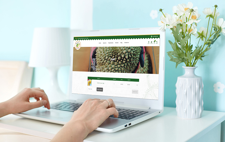 Order Durian Online during Covid