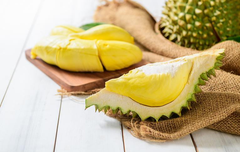 Durians in Singapore