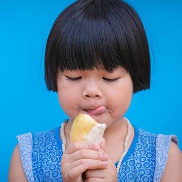 Children Love Durian So Much