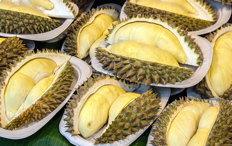 The King Of Fruits Season In Singapore