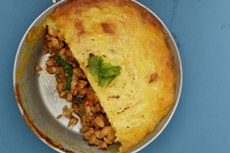 Cottage Pie with Durian Mash