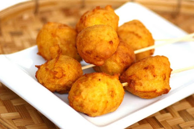 Durian Fritters